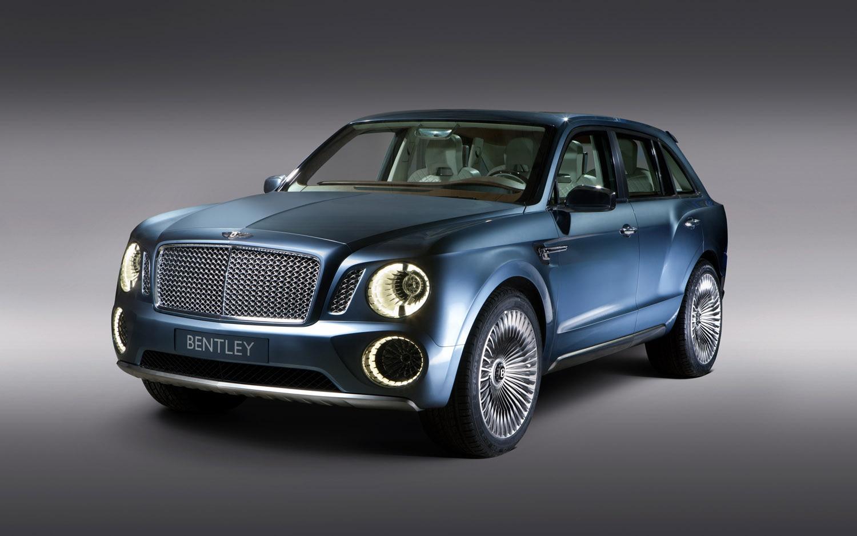 Bentley EXP 9 F Front Three Quarter1