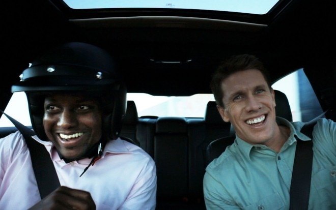 Carl Edwards In Car With Ford Engineer1 660x413