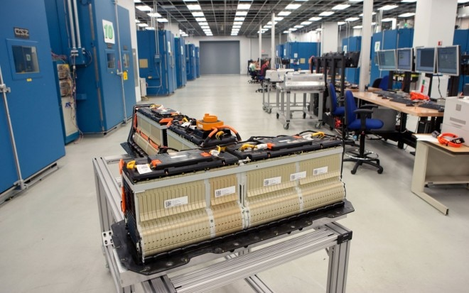 Chevrolet Volt Battery Pack In GM Battery Laboratory1 660x413