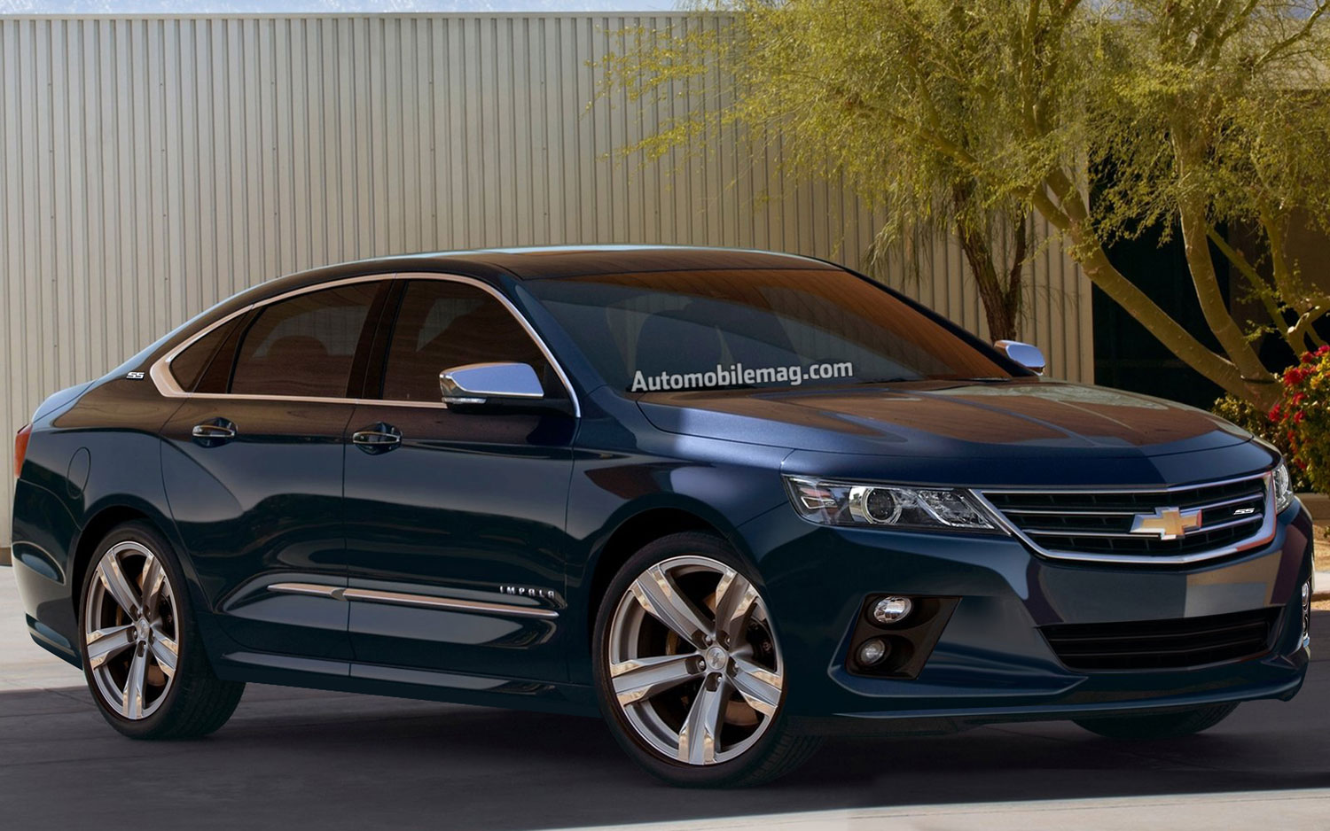 Chevy Impala SS Rendering Front AMAG1