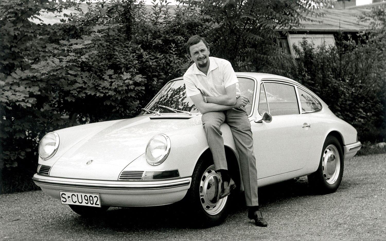 Ferdinand Alexander Porsche And Porsche 9111