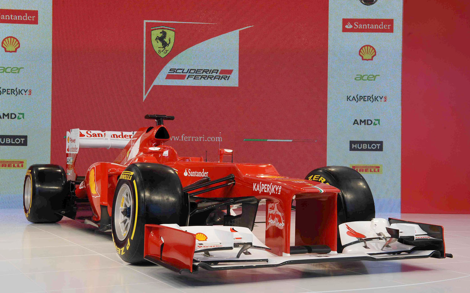 Ferrari F2012 F1 Front Three Quarter