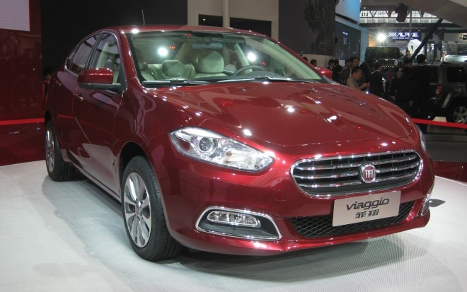 Fiat Viaggio Red Front Three Quarter1 660x413