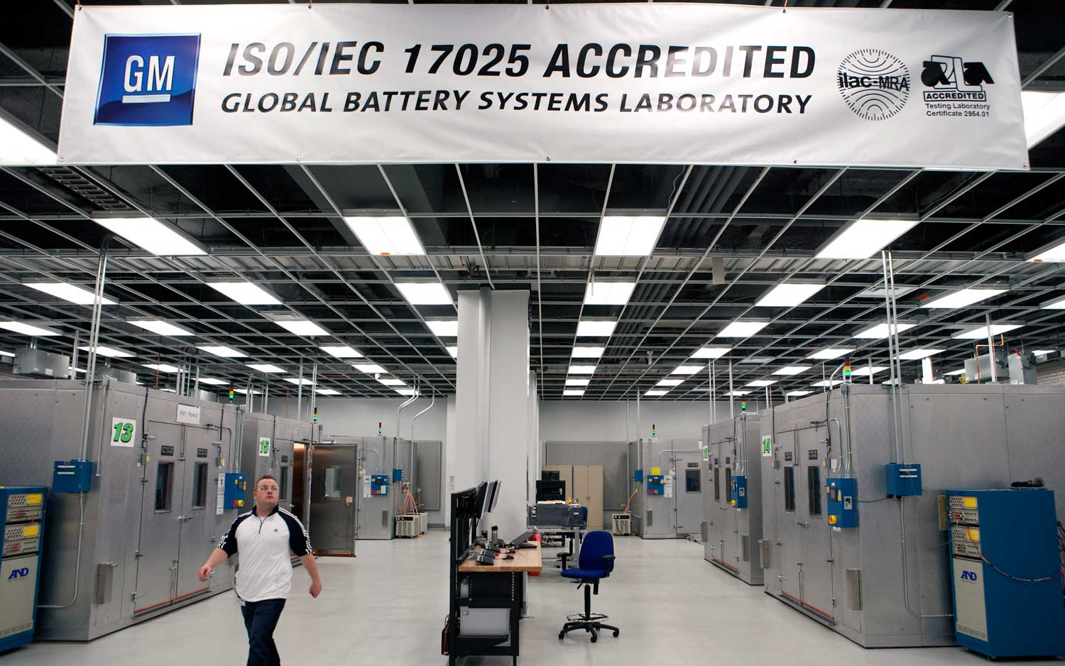 GM Tech Center Global Battery Systems Laboratory1