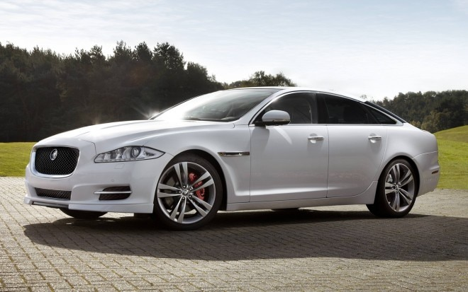 Jaguar XJ With Sport Pack Front Three Quarter1 660x413