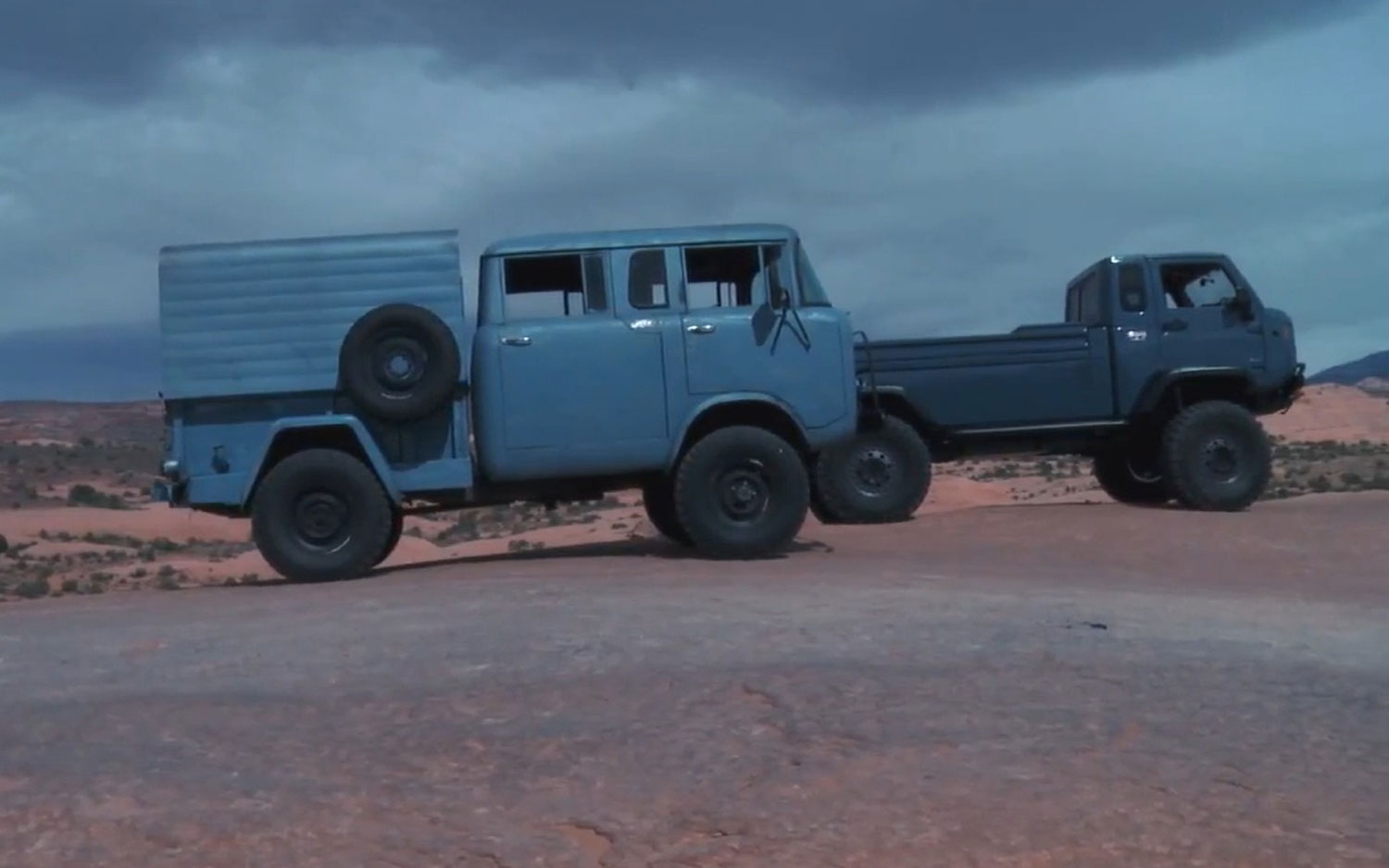 Jeep Mighty FC Concept And 1964 Jeep FC1