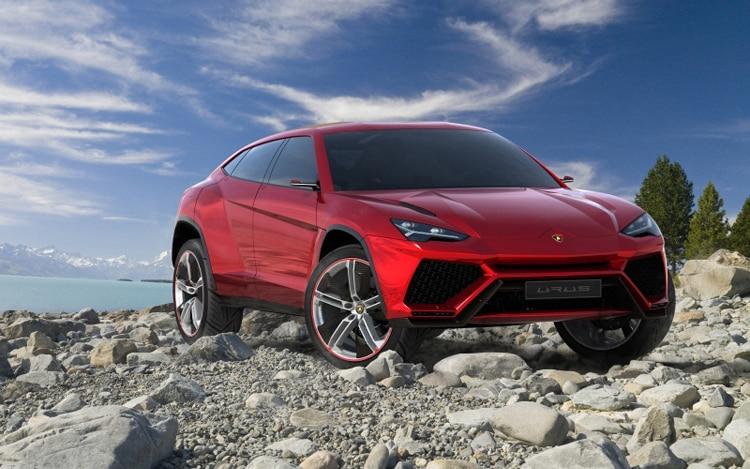 Lamborghini Urus Concept Front Three Quarter1