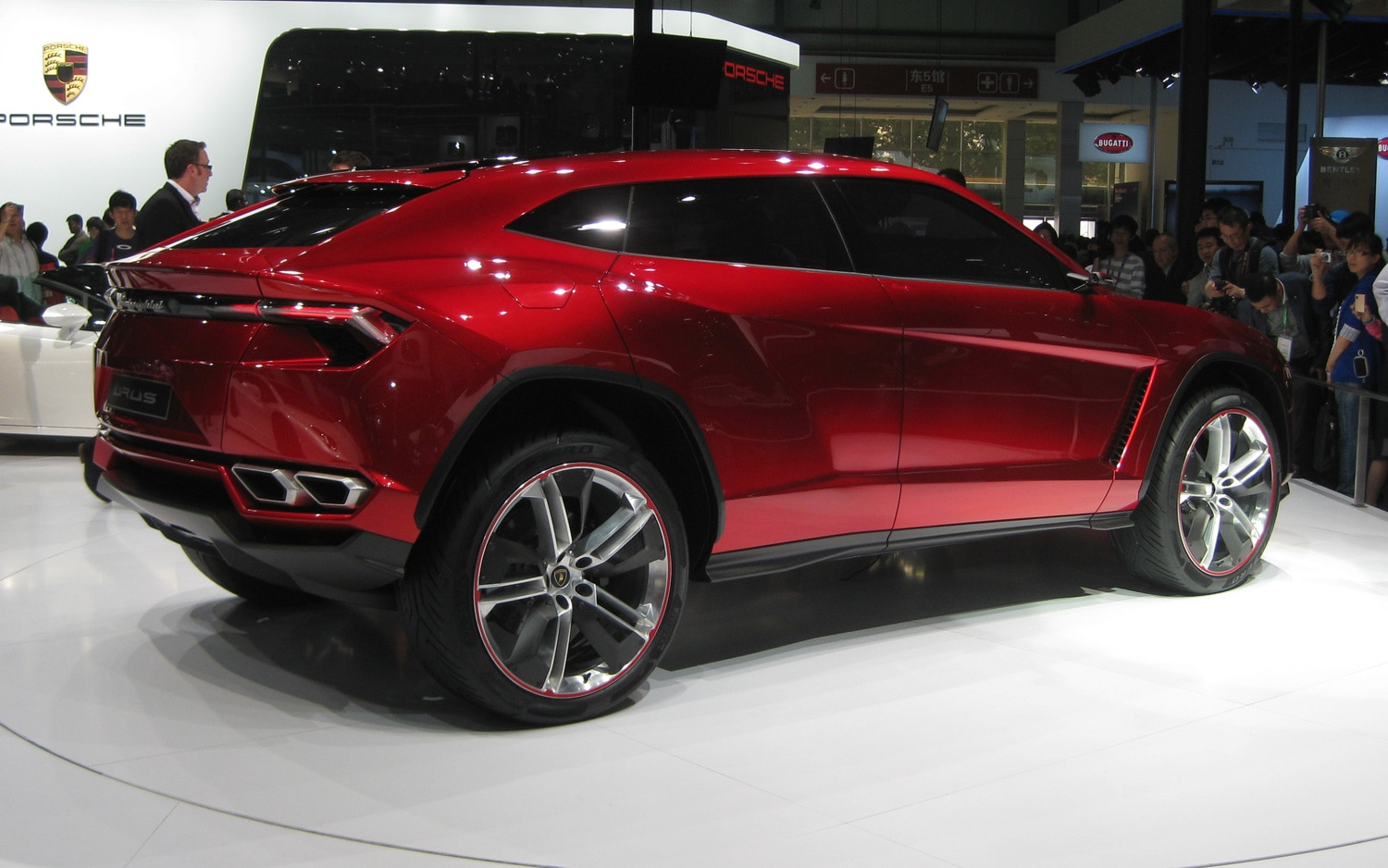 Beijing 2012: Lamborghini Urus SUV Concept Debuts to Cheers and Applause Photo Gallery