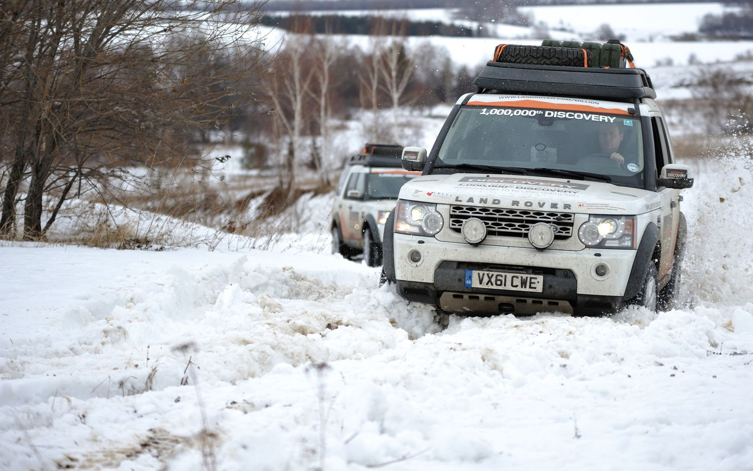 Land Rover LR4 Discovery Front End1