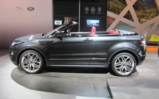 Land Rover Range Rover Evoque Convertible Concept Profile1 660x413