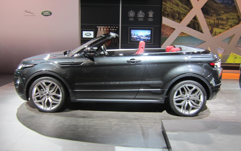 Land Rover Range Rover Evoque Convertible Concept Profile1