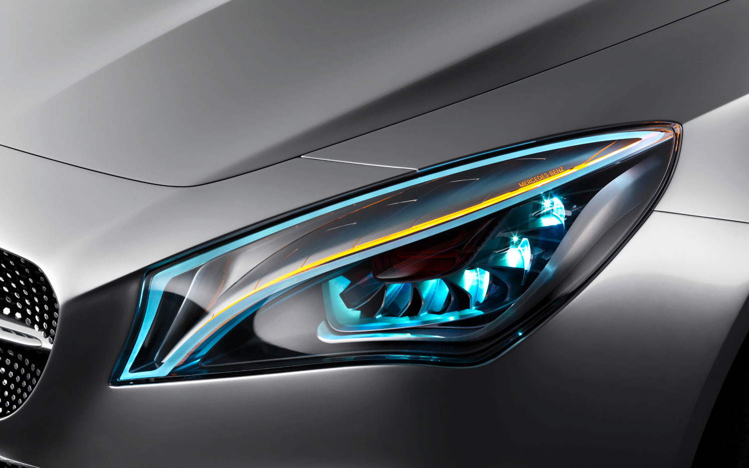 Mercedes Benz Concept Style Coupe Headlight1