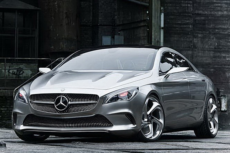 Mercedes Benz Concept Style Coupe Front Three Quarter1