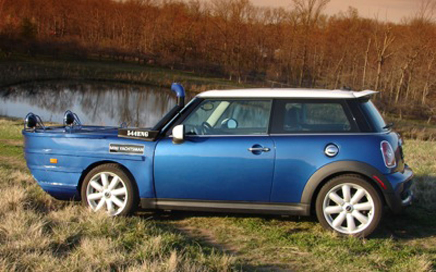 Mini Cooper Yachtsman Joke Profile1