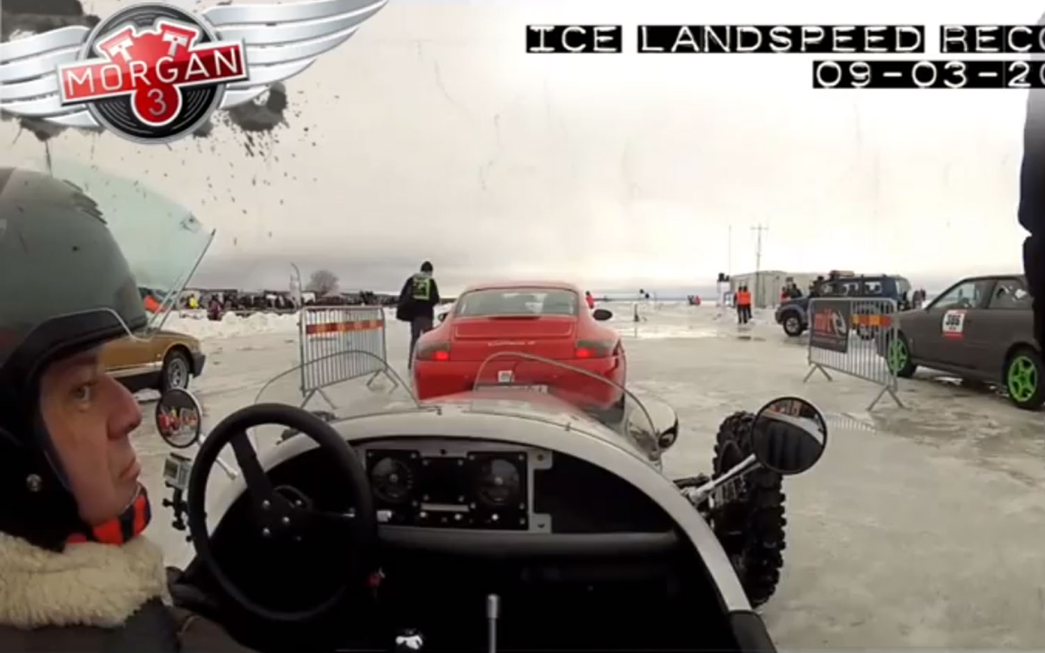 Morgan 3 Wheeler Ice Video 11