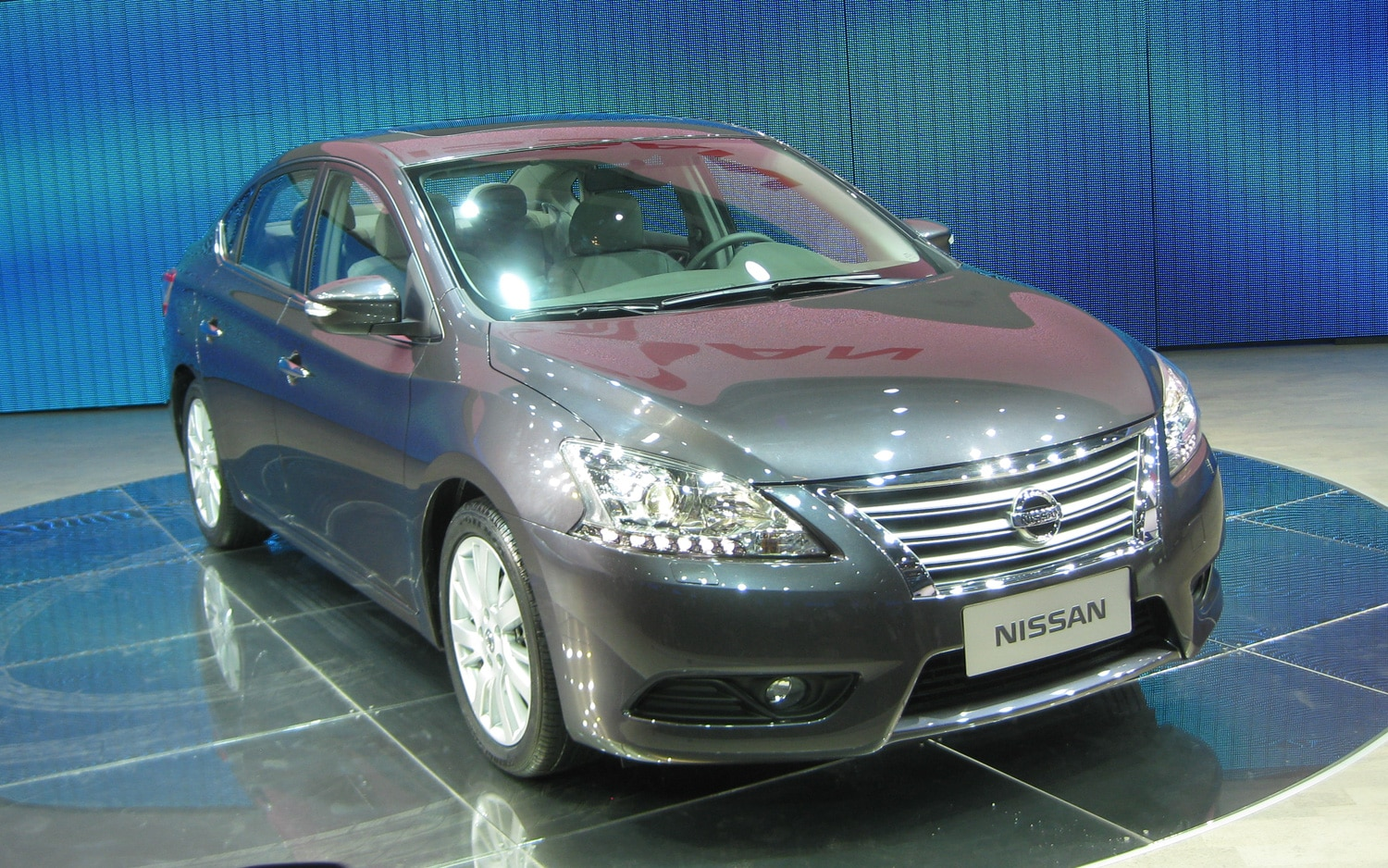 Nissan Sylphy Front Three Quarter1