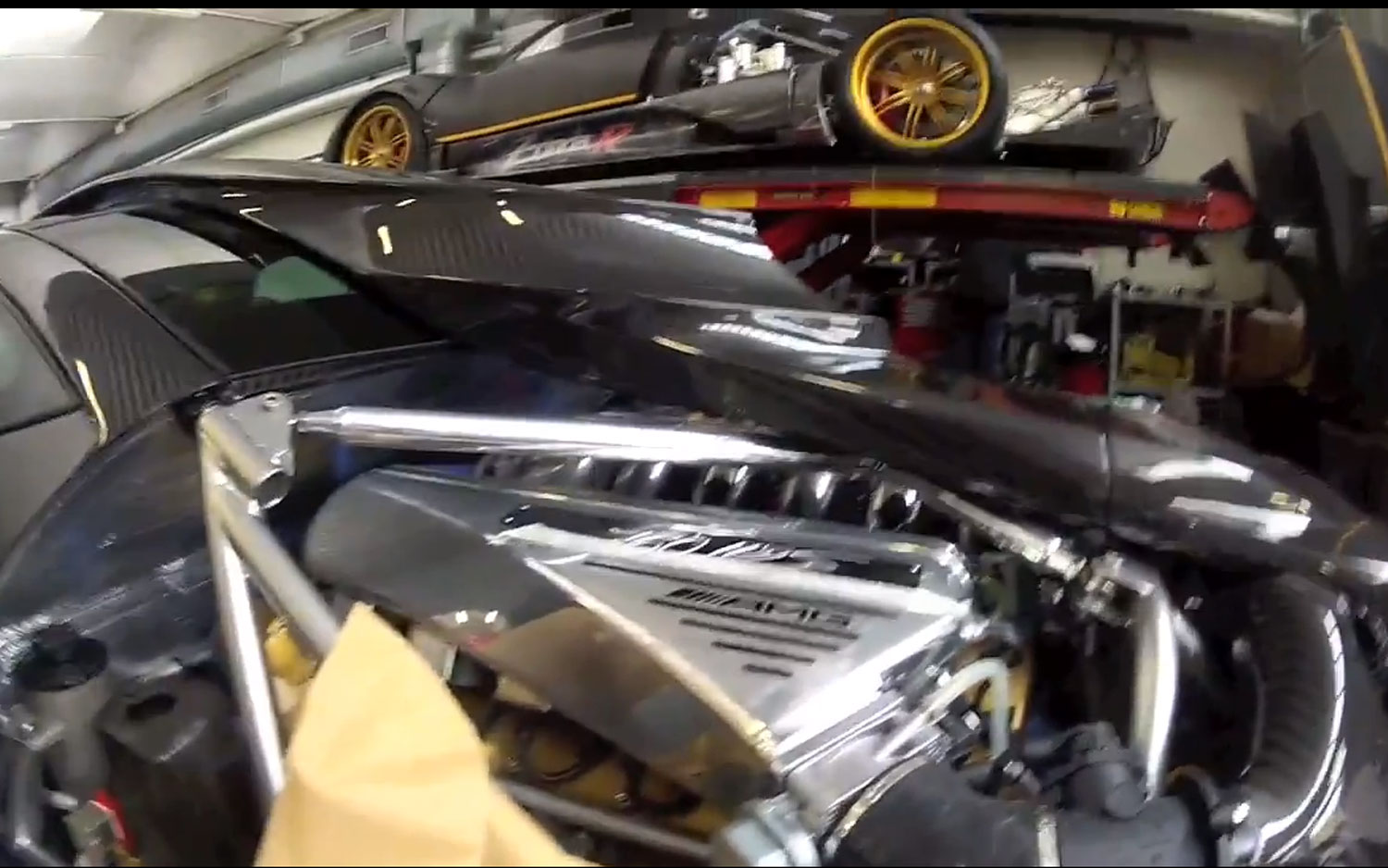 Rumored Custom Pagani Zonda 760 Rs Goes Out In Style With