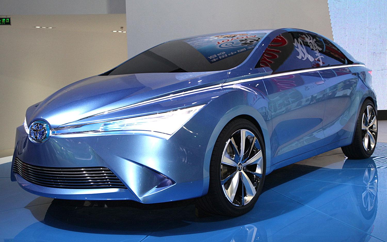 Toyota Yundong Shuangqing Concept Front Three Quarters1