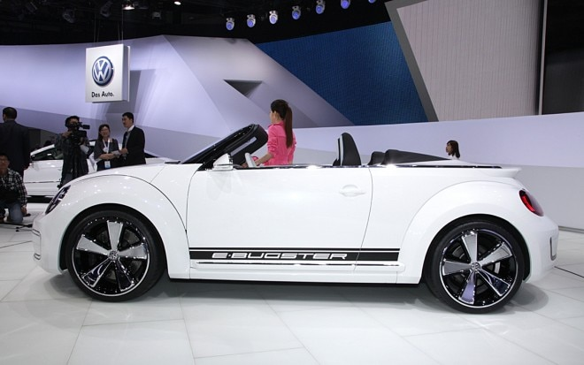 Volkswagen E Bugster Concept Convertible Side1 660x413