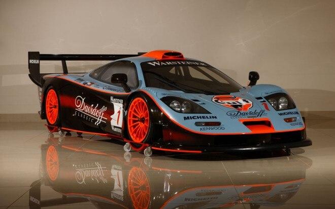 Ex GTC Gulf Team Davidoff 1997 McLaren F1 GTR Longtail FIA GT Endurance Racing Coupe Front Right 11 660x413