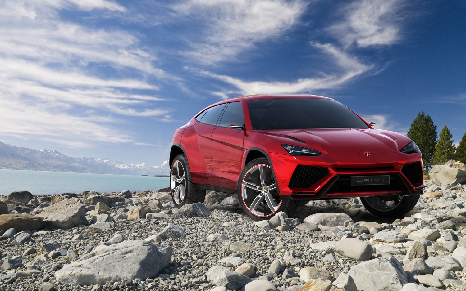 Lamborghini Urus Front Right Side View1