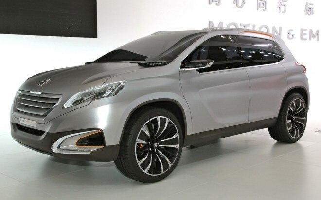 Peugeot Urban Crossover Concept Front Three Quarters
