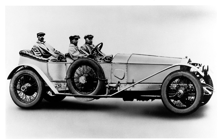 1911 Rolls Royce 1701 Silver Ghost Profile1