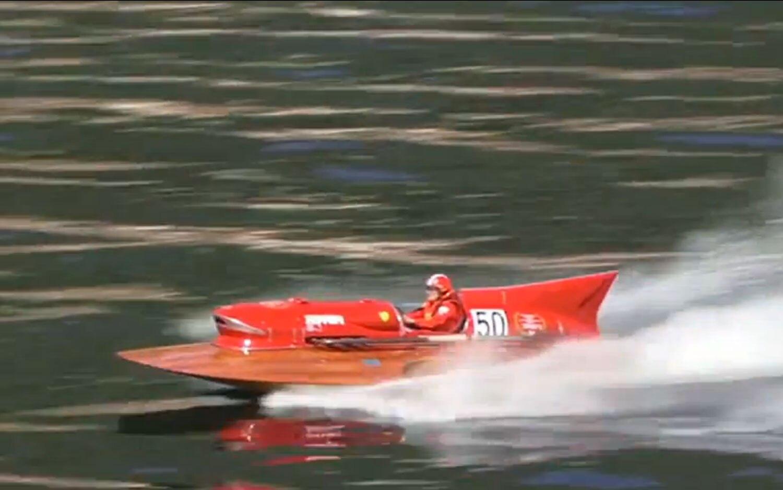 1953 Timossi Ferrari Arno XI Racing Hydroplane Video 41