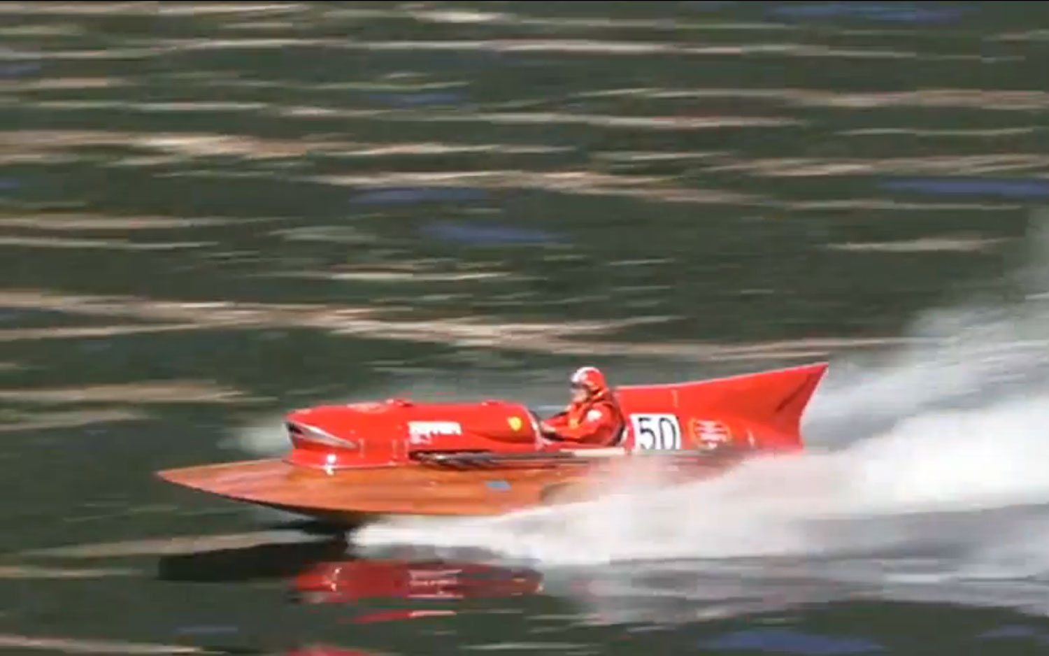 1953 Timossi Ferrari Arno XI Racing Hydroplane Video 41