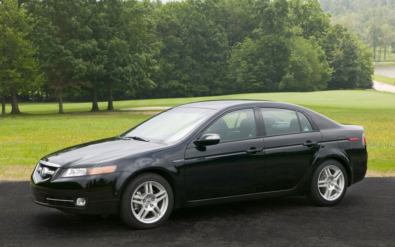 2008 Acura TL Front1