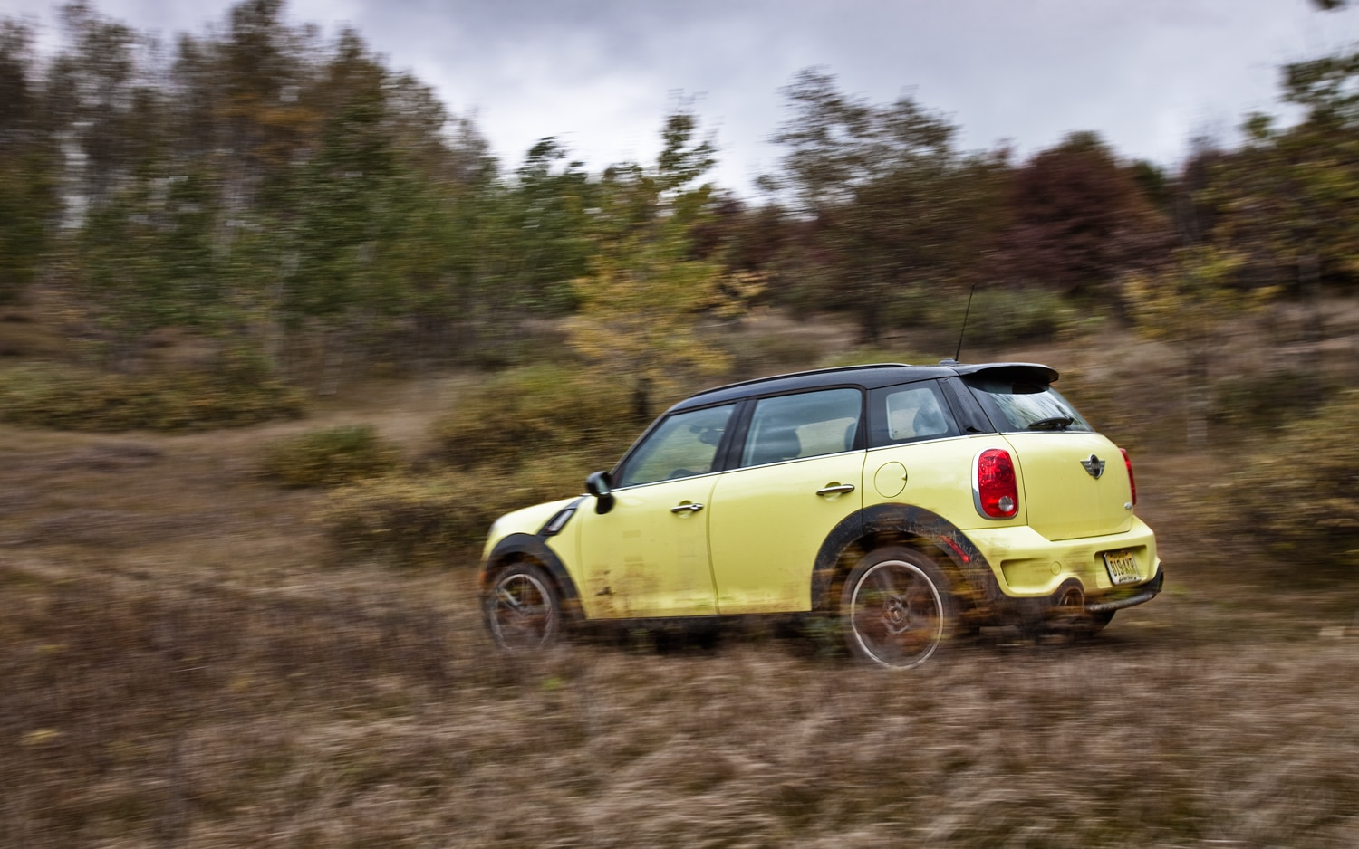 2011 MINI Cooper S Countryman ALL4 Rear Left Side View1