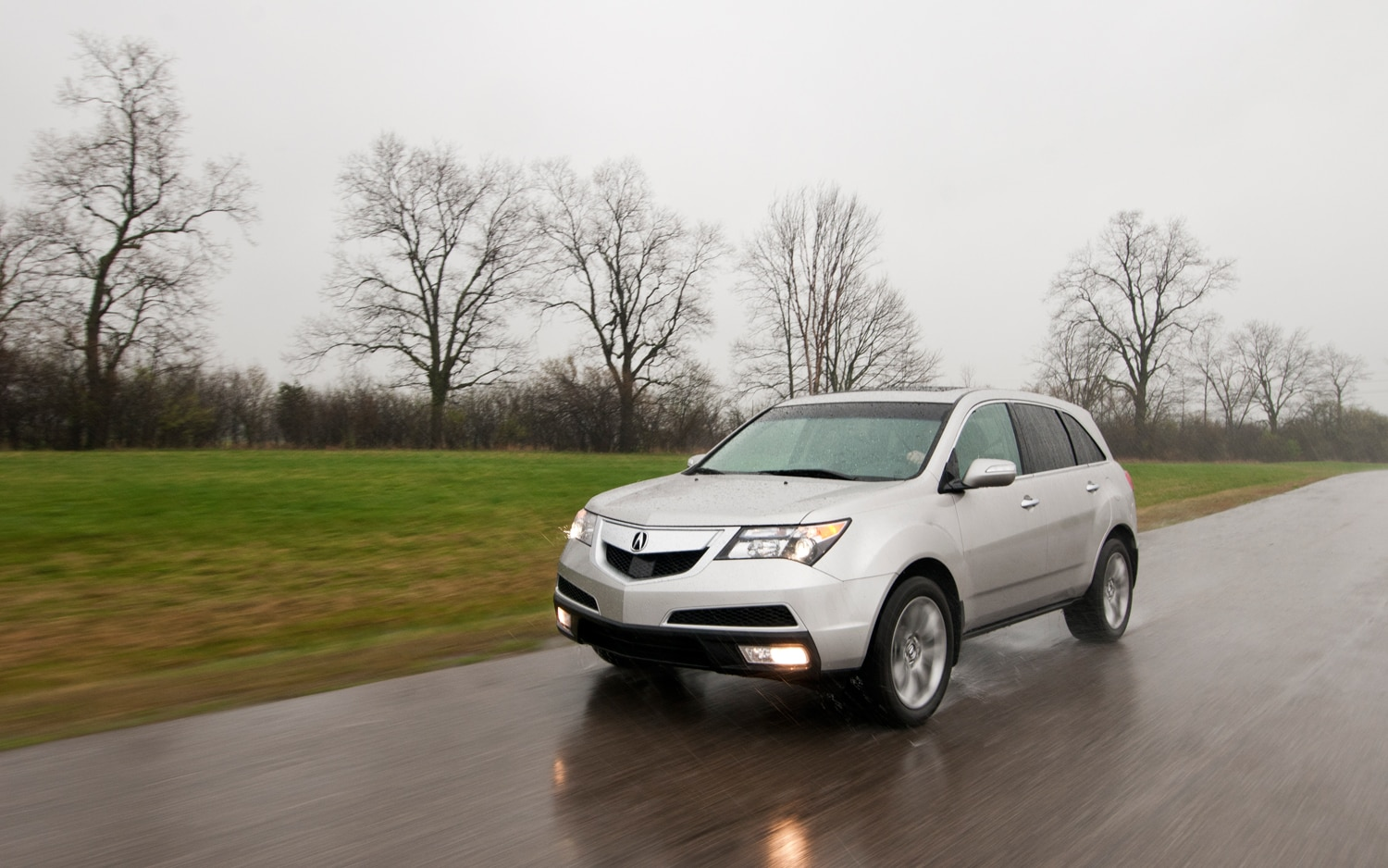 2012 Acura MDX Front Left View1