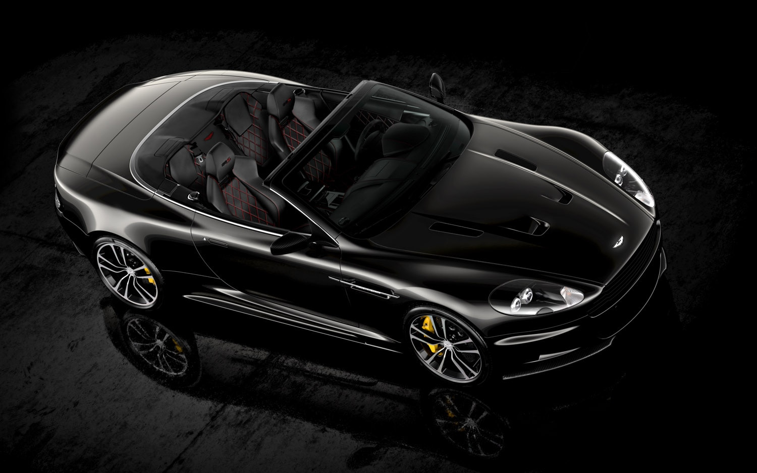 2012 Aston Martin DBS Volante Ultimate Front Three Quarter Aerial1