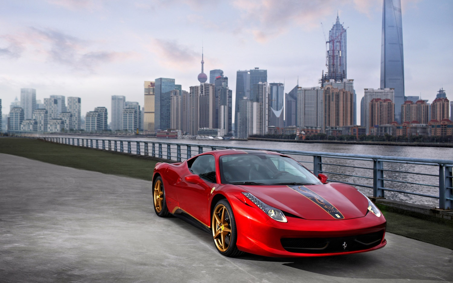 2012 Ferrari 458 Italia Chinese SE Front Three Quarter1