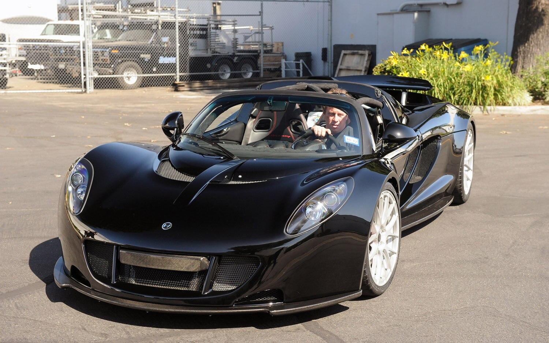 2012 Hennessey Venom GT Spyder Front Three Quarter