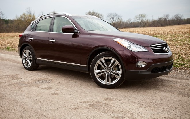 2012 Infiniti EX35 Journey AWD Front Right Side View1 660x413
