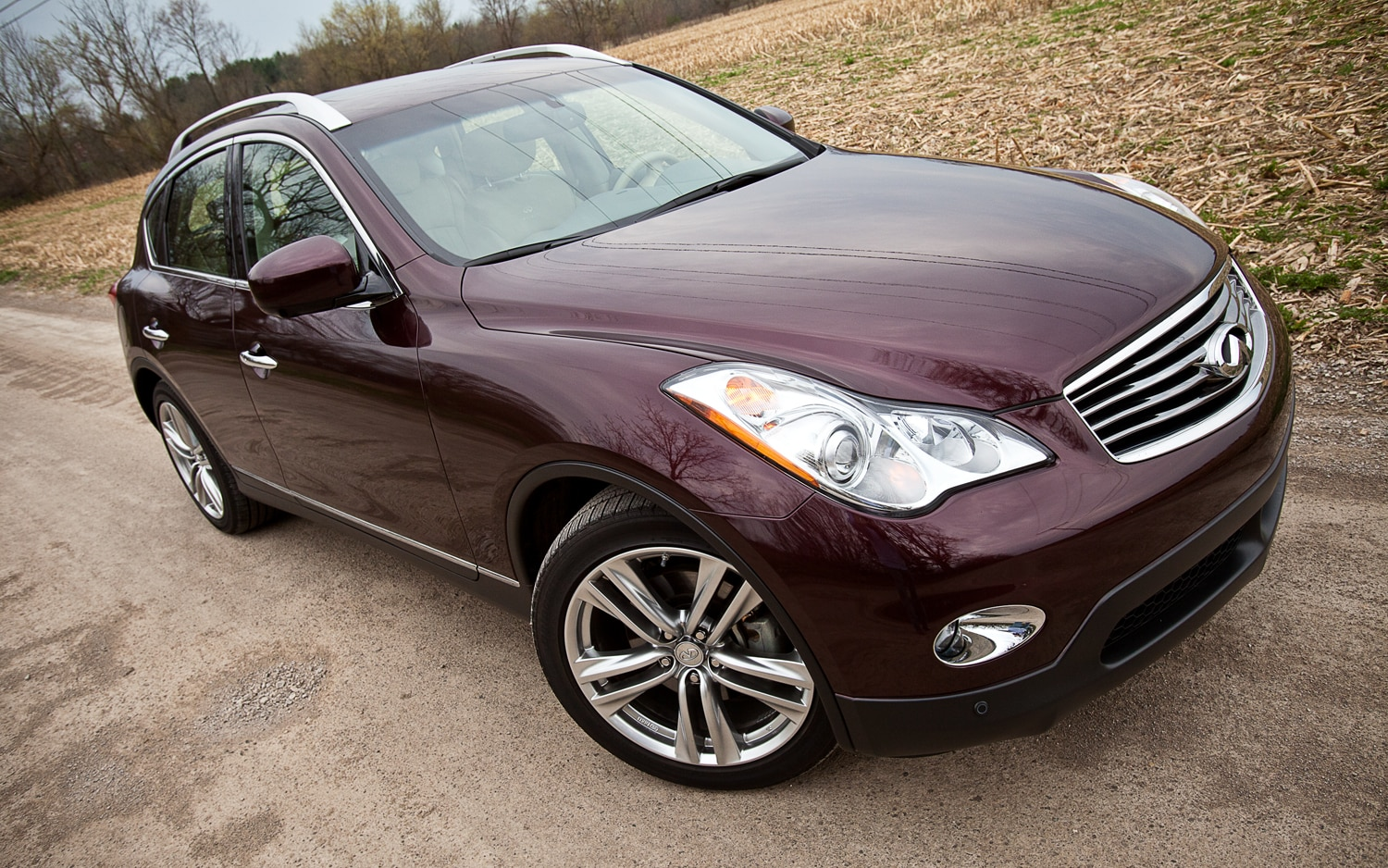 2012 infiniti ex35 journey awd editors notebook automobile we spent a year with the infiniti ex35 vanachro Images