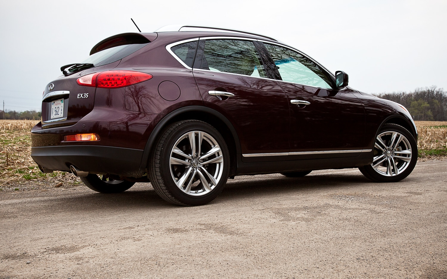 2012 infiniti ex35 journey awd editors 39 notebook automobile magazine. Black Bedroom Furniture Sets. Home Design Ideas