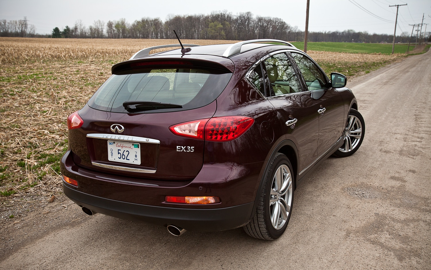 We spent a year with the infiniti ex35