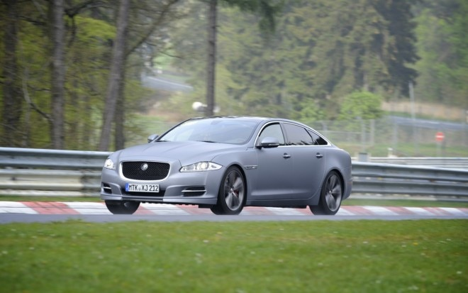 2012 Jaguar XJ Supersport Ring Taxi Front Three Quarter Nurburgring 21 660x413