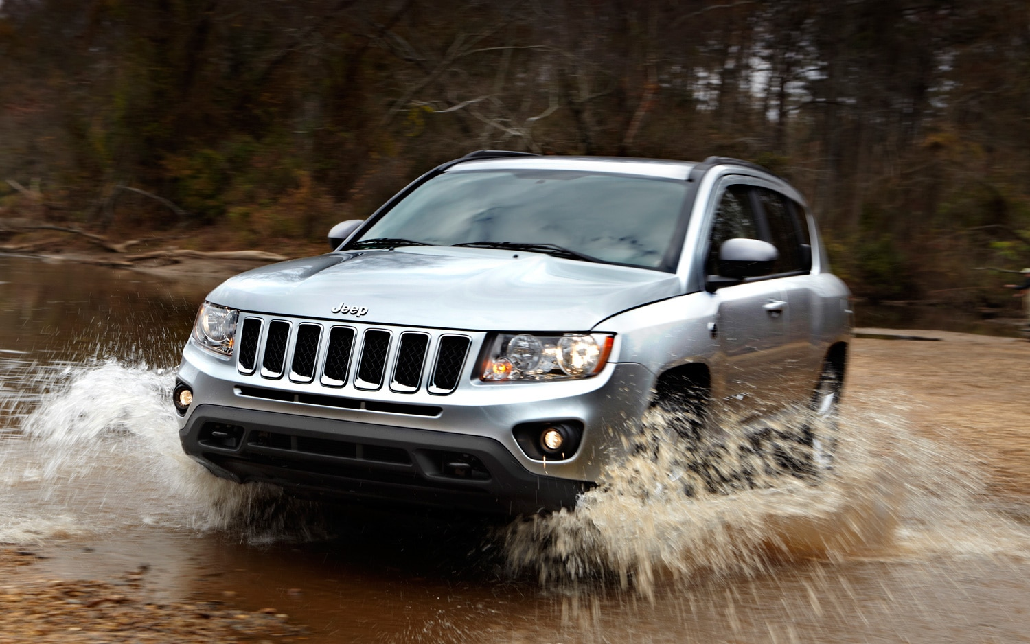 2012 Jeep Compass Front Three Quarter Water1