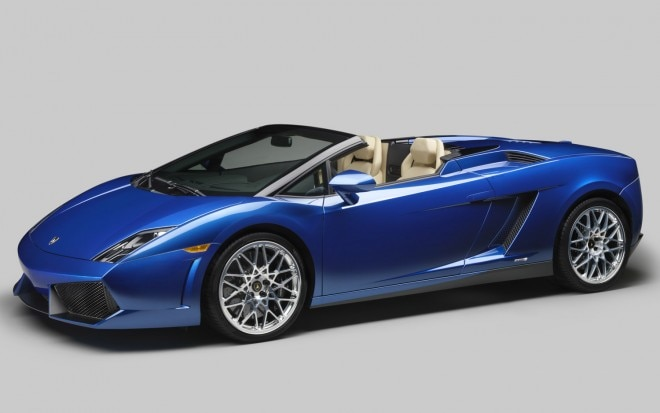 2012 Lamborghini Gallardo LP 550 2 Spyder Front Three Quarter1 660x413