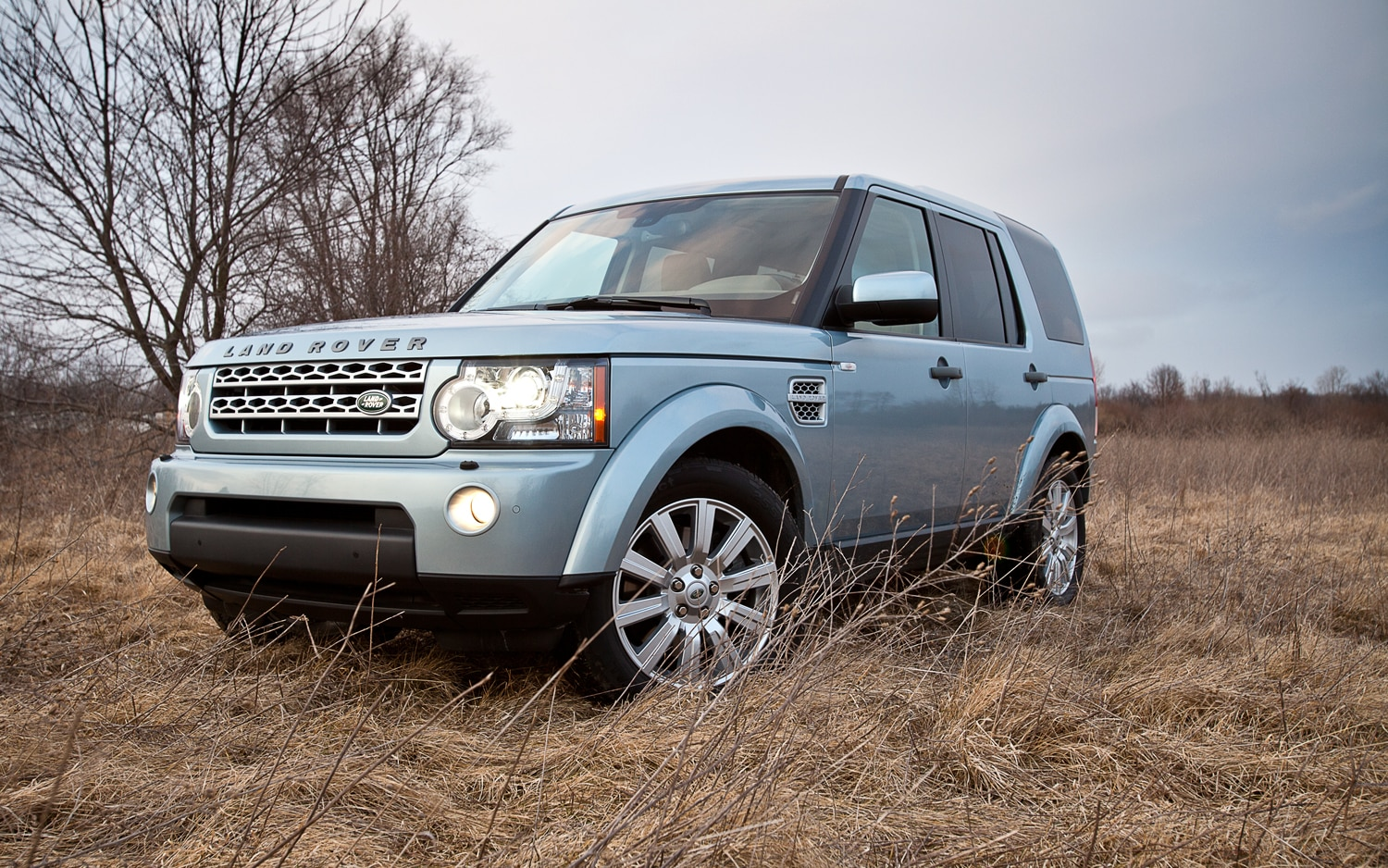 2012 Land Rover LR4 Front Left View1