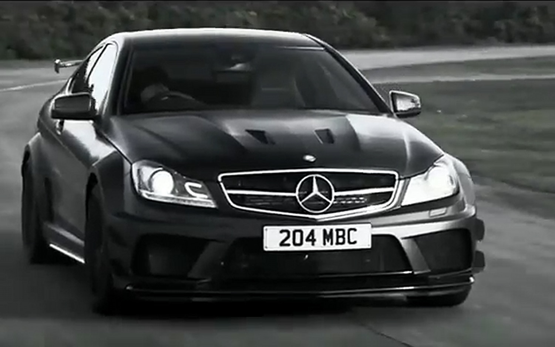 2012 Mercedes Benz C63 AMG Coupe Black Series Front Three Quarter1