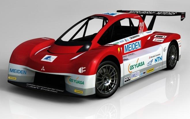 2012 Mitsubishi I MiEV Evolution Pikes Peak Racer Front Three Quarter1 660x413