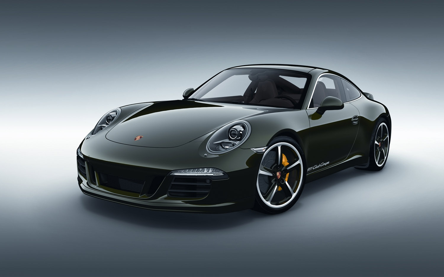 2012 Porsche 911 Club Coupe Front Three Quarter1