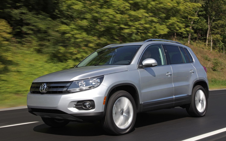 2012 Volkswagen Tiguan Front Three Quarter1