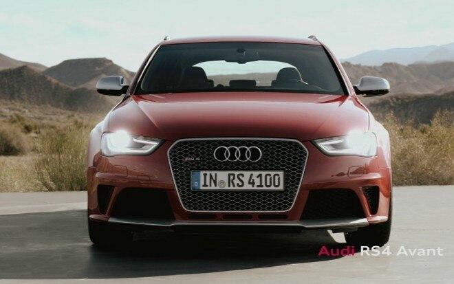 2013 Audi RS4 Avant Front1 660x413