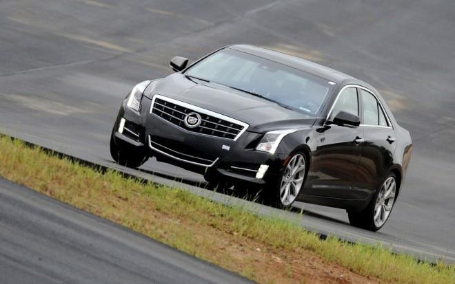 2013 Cadillac ATS Front Three Quarter Track 211 660x413