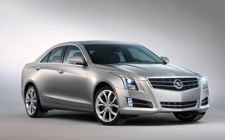2013 Cadillac ATS Front Three Quarter1